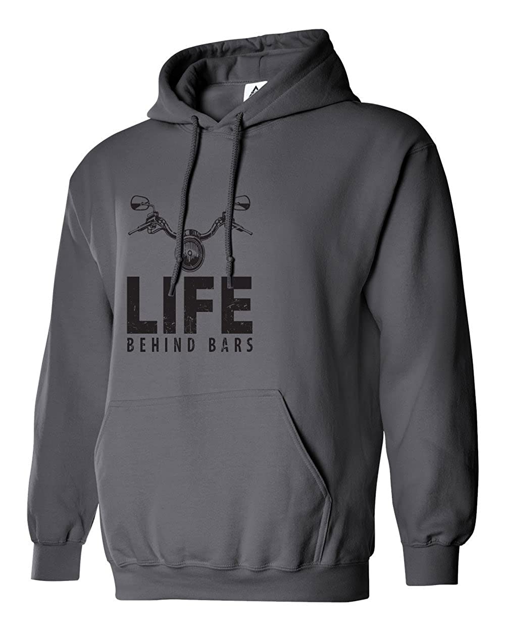 Sheki Apparel Life Behind Bars Funny Cycling Mens Hoodie Hooded Sweatshirt