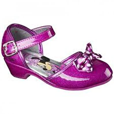 c9a3b874e174 Disney Toddler Girl s Minnie Mouse Sparkle Mary Jane Dress Shoe ...