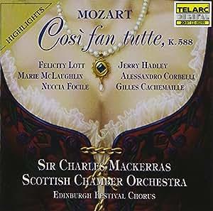 Mozart: Così fan tutte / Mackerras [Highlights]