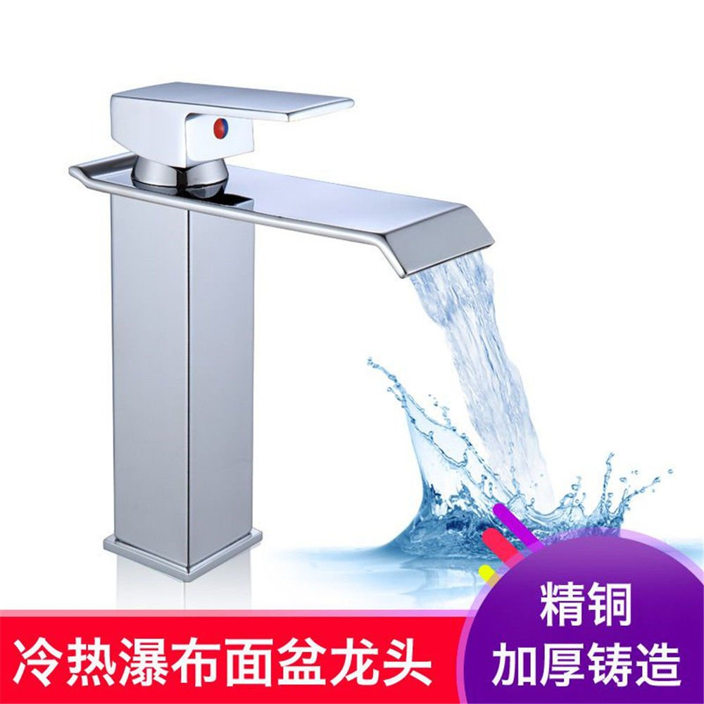 NewBorn Faucet Küche oder Badezimmer Waschbecken Mischbatterie Alle Kupfer antik Leitungswasser Mischventil Waschen 360° drehbarer Teller Waschbecken Mischbatterie C