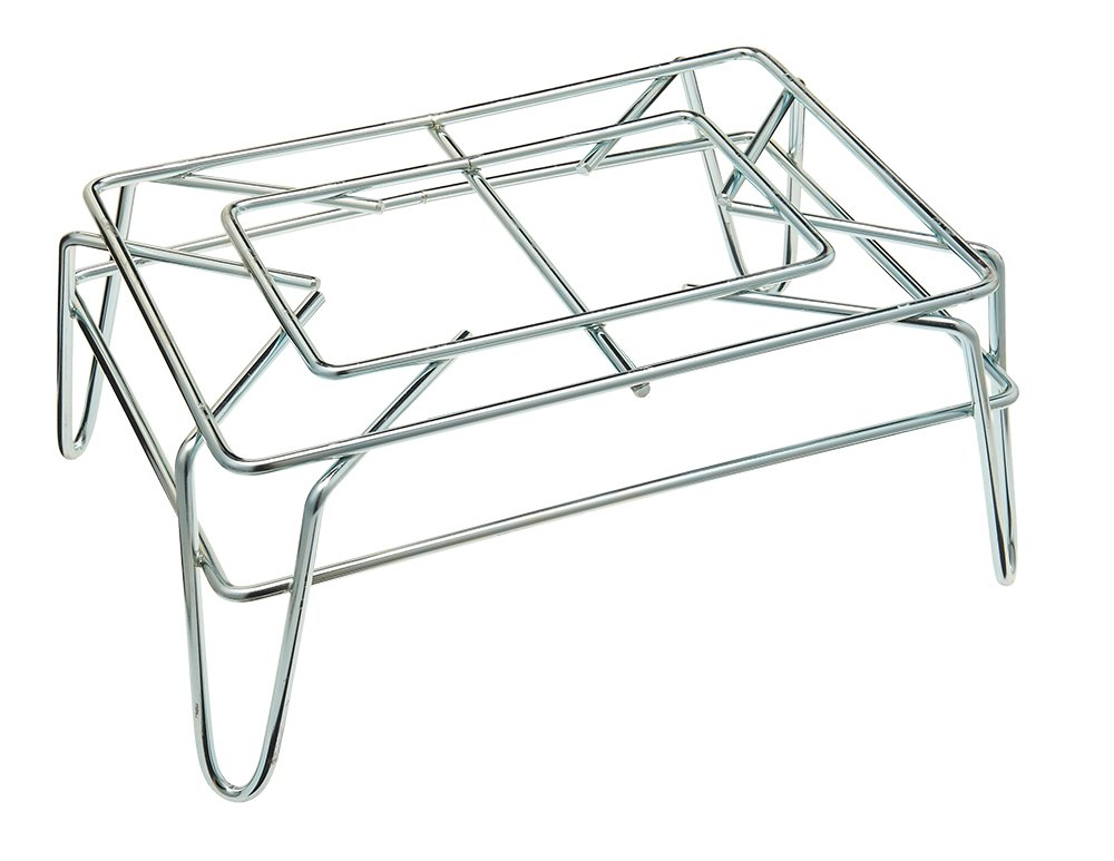 13 x 19 x 43 Size Winholt LSB-STD Steel Stand for Customer Shopping Basket