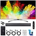"LG 65"" Super UHD 4K HDR Smart LED TV - 65SJ9500 w/LGSJ8 Sound Bar Bundle"
