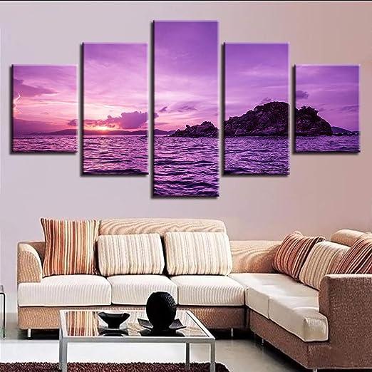Wuwenw Obra De Arte Cartel Hd Imprime Dormitorio Decoración ...