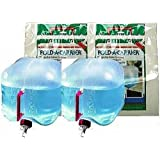 Reliance (2) 2.5 Gallon Collapsible Water Containers Jugs 2500-13