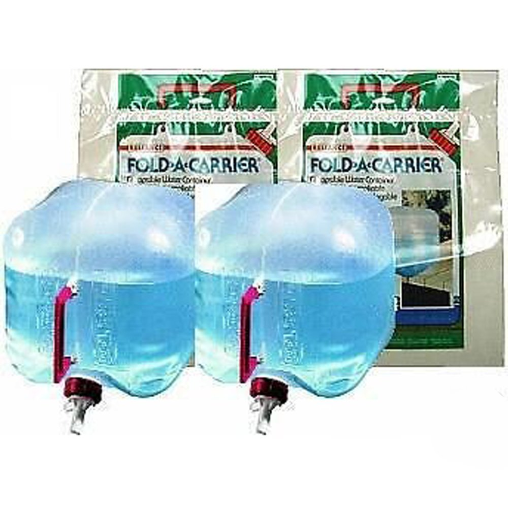Reliance (2) 2.5 Gallon Collapsible Water Containers Jugs 2500-13 by Reliance Products
