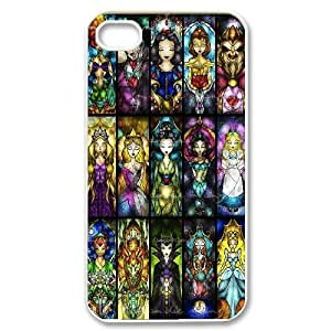 Characters Disney Stained Glass Cute Design for iPhone 4s Cover ATR064735