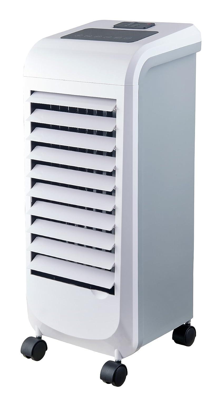 wei/ß Ardes ar5r11/Cool B raffrescatore Luftbefeuchter verdampfend von Umwelt 3/Geschwindigkeitsstufen mit Timer Fernbedienung und Rollen