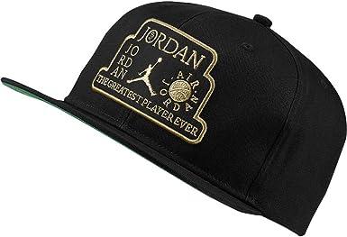 Jordan Gorra ProTrophy Negro Ajustable: Amazon.es: Ropa y accesorios