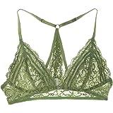 5810e0fb08bc2 FRDMBeauty Sexy Front Close Lace Bralette Triangle Bikini Top Lingerie Bra  Underwear For Women