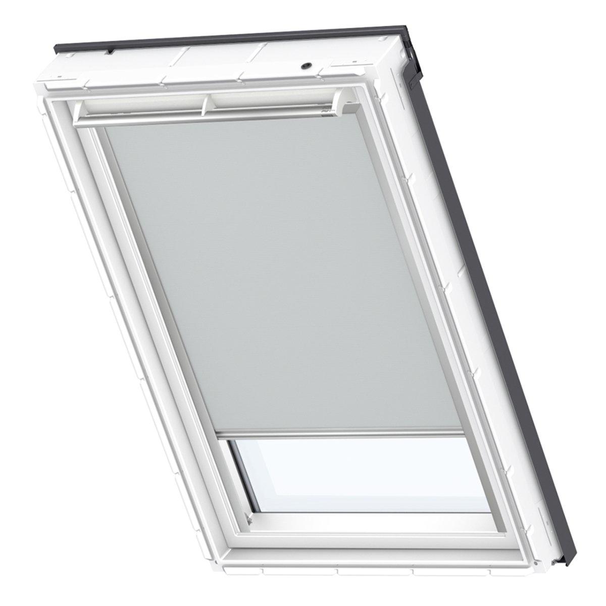 VELUX Original Verdunkelungrollo Dachfenster, UK08, Uni Grau