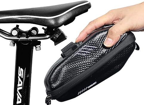 Nueva Anti-Prensa Sillín de Ciclismo Bolsa de Asiento de Bicicleta ...