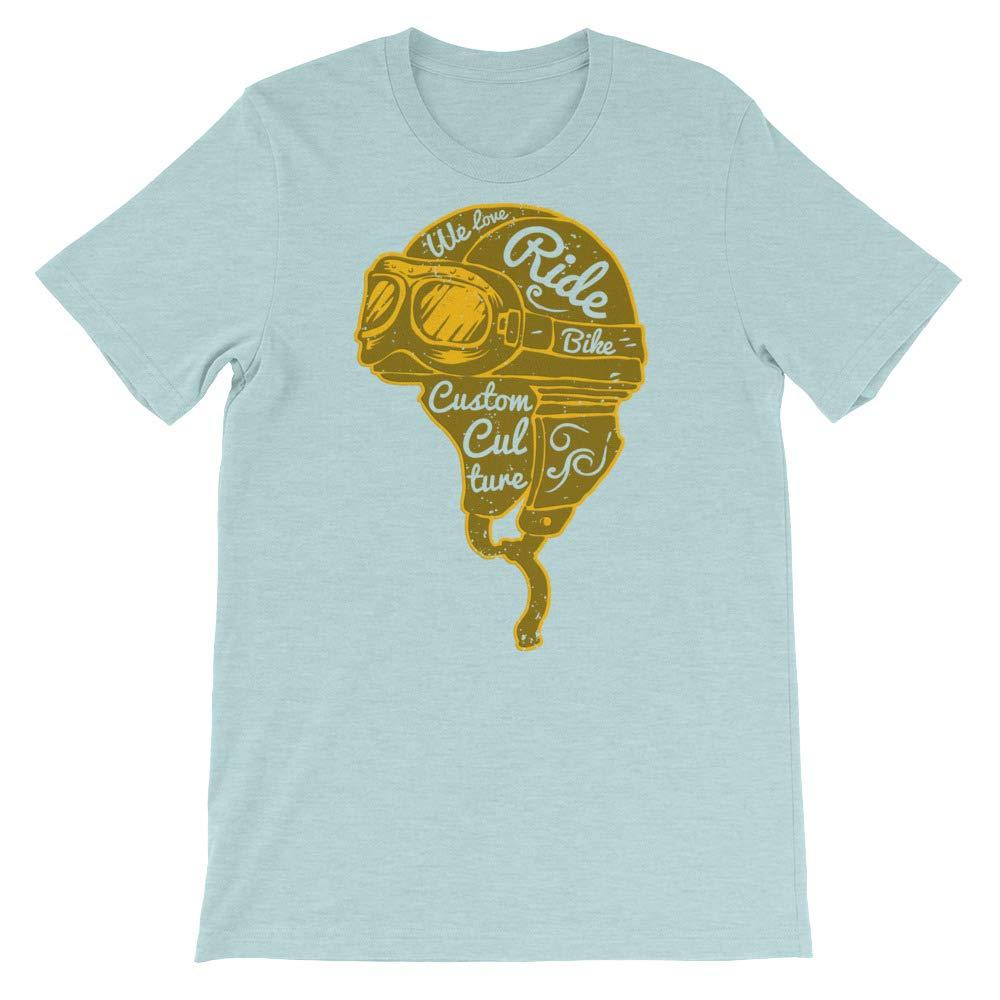 Ride Bike T-Shirt Graphic Shirts Funny Unisex Shirt