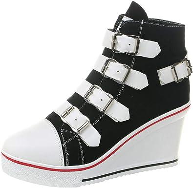 ACE SHOCK Women Wedge Sneakers Wide