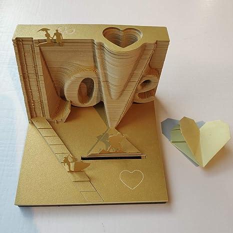 Amazon.com: Creative 3D - Papel de sobremesa para niños o ...