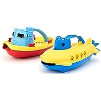 Tug Boat & Submarine Combo Pack