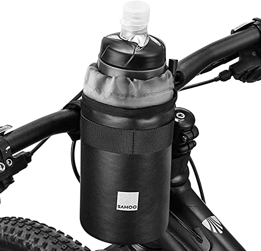 Details about  /Sport Bike Bicycle Water Bottle Cage Holder Clamp Clip Handlebar Bracket Mou US