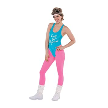 Lets Get Physical Ladies Costume 1980s Oliva Fitness Womens 80s Fancy Dress  sc 1 st  Amazon UK & Lets Get Physical Ladies Costume 1980s Oliva Fitness Womens 80s ...