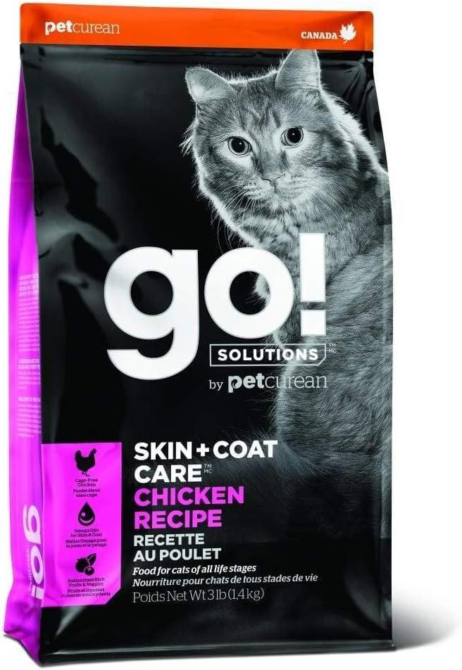 GO! Solutions Skin + Coat Care Chicken Recipe Feline (16 lb.)