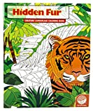 Mindware Hidden Fur (Colouring Book)