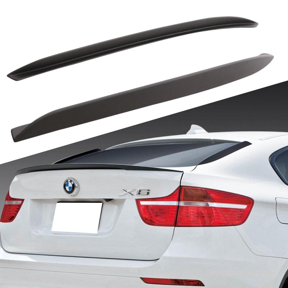 08 - 14 BMW X6 E71 E72 X6 M sin pintar Rear Window Fin Tapacubos ABS Difusor Alerón: Amazon.es: Coche y moto