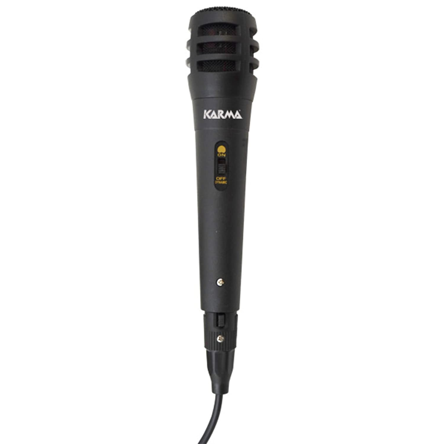 Karma Italiana DM 520 Wired Black microphone - Microphones (72 dB, 90-11000 Hz, 630 Ω, Wired, 3 m, 1 pc(s)) 630 Ω