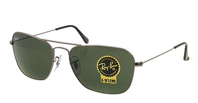 9e480b34815 Amazon.com  Ray Ban Sunglasses RB 3136 SILVER 004 RB3136 55MM  Ray ...