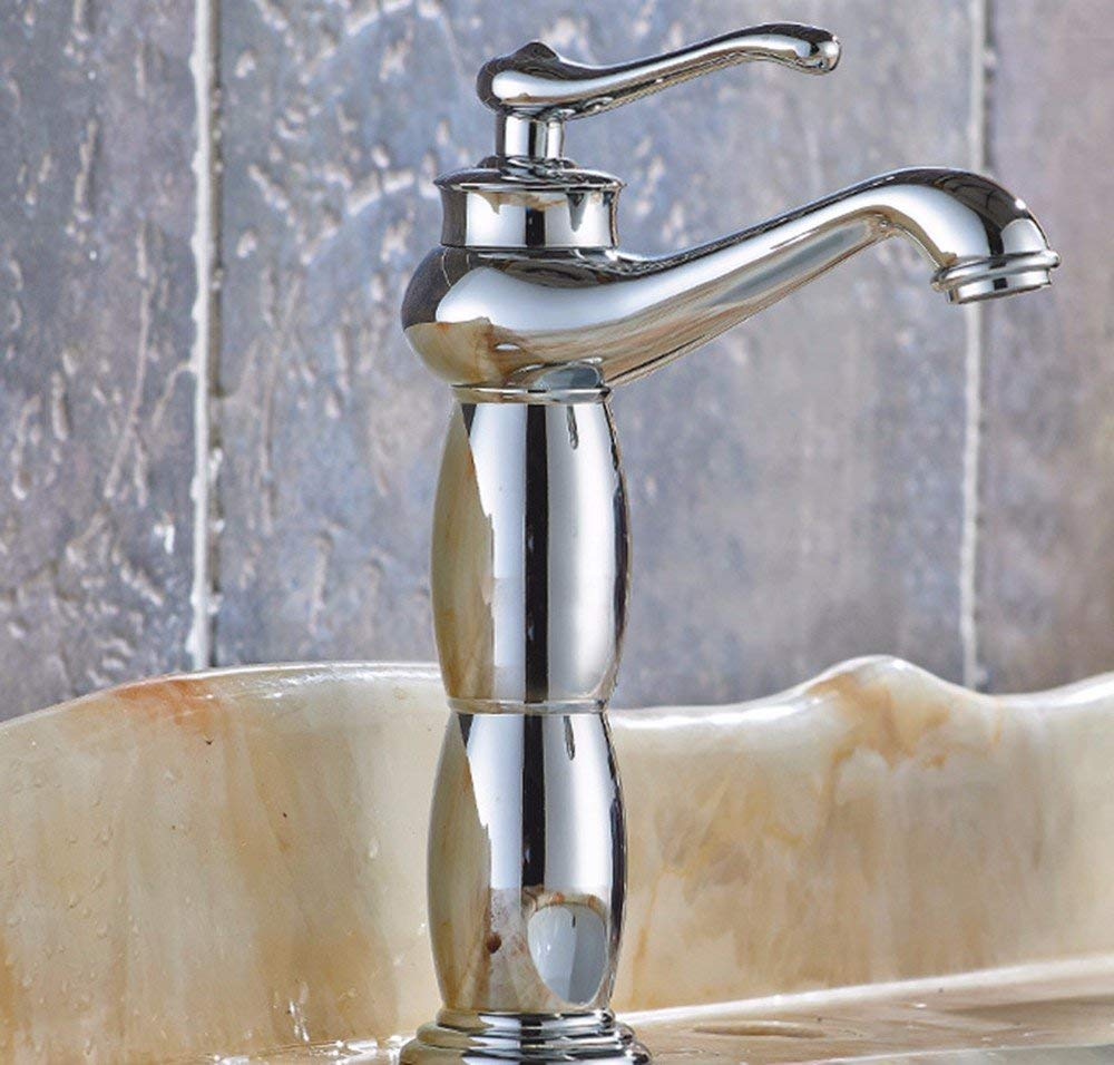 3 Oudan Basin Mixer Tap Bathroom Sink Sink Sink Faucet European retro style, copper basin, hot and cold, turn the Faucet 14 (color   9) 301441