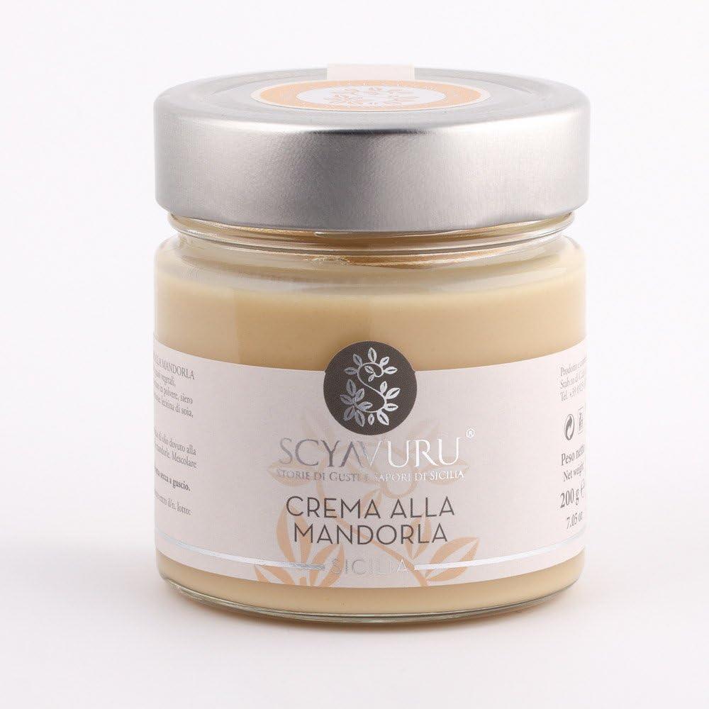 Crema de Almendras Italiana | Sin Gluten | 200g: Amazon.es ...