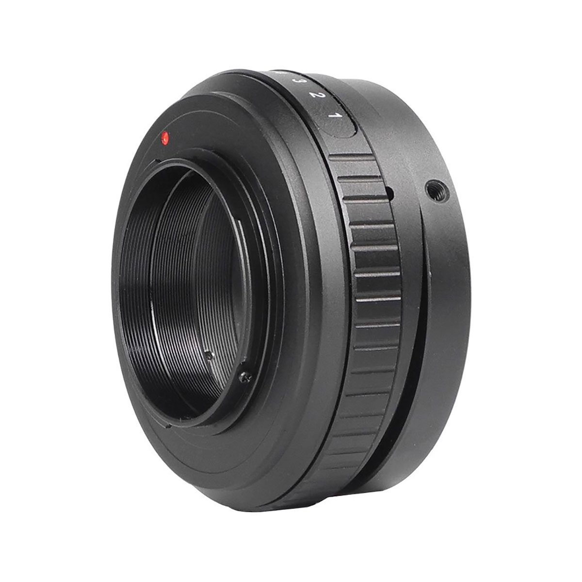 MENGS M42-M4//3 Tilt Lens Mount Adapter with 360/° Rotation Aluminum Alloy+Stainless Steel M42 Mount Lens to Micro 4//3 Mount Panasonic G//GF Series and Olympus EP Series Camera