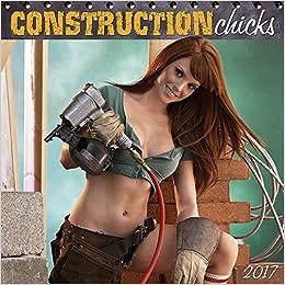 construction chicks 2017 wall calendar zebra publishing 9781772180855 books. Black Bedroom Furniture Sets. Home Design Ideas