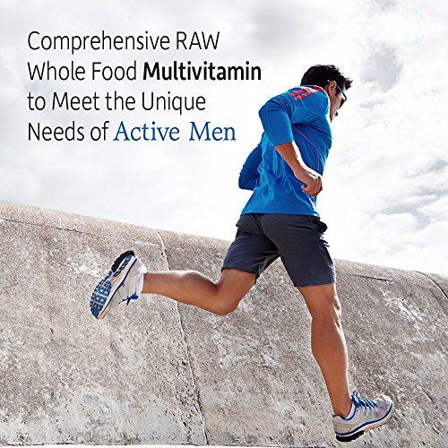 Garden of Life Vegetarian Multivitamin Supplement for Men Vitamin Code Men's Raw Whole Food Vitamin with Probiotics