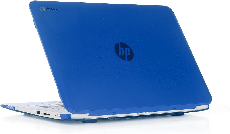 "iPearl mCover Hard Shell Case for 14"" HP Chromebook 14 G2 series (14-Q010NR 14-Q020NR 14-Q029WM 14-Q030NR 14-Q070NR, etc, NOT compatible with NEWER HP Chromebook 14 G3 series like 14-X010 / 14-X013dx / 14-X015wm / 14-X030nr / 14-X040nr / X050nr, etc) laptops (Blue)"