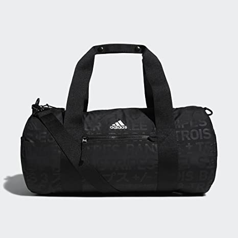 hot sale online ea38b 1d6dd adidas VFA Roll Duffel Bag, Black EmbossBlack, One Size