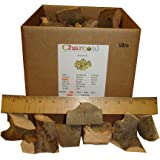 CharcoalStore Apple Smoking Wood Chunks - Bark (5 Pounds)