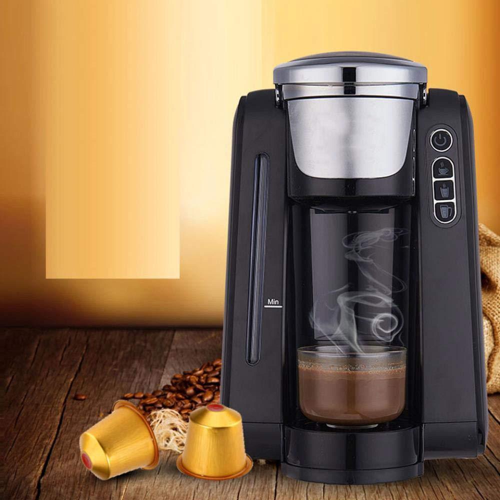 DRWXLPD Máquina de café de una Sola Taza, máquina de café con ...