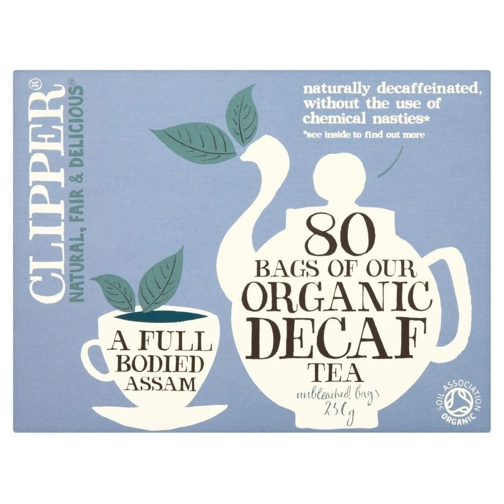 Clipper Organic Decaf 80 per pack