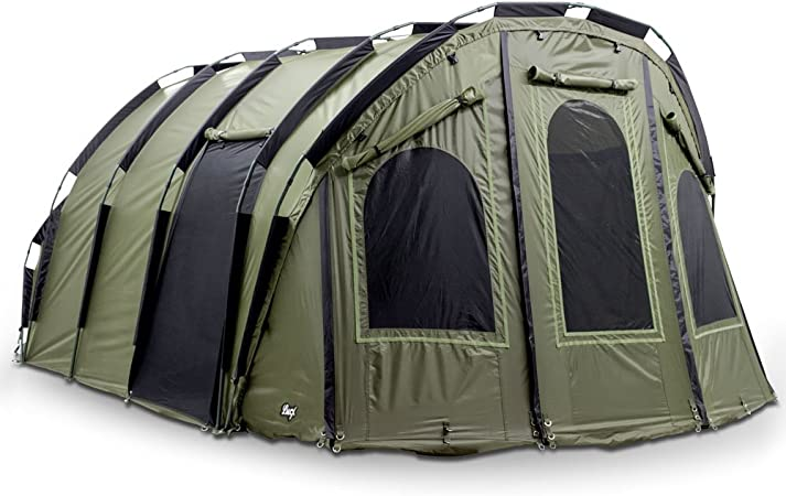 Lucx Bivvy Bigfoot Angelzelt 2-6 Man XXL Karpfenzelt Carp Dome Fishing Tent Camping Zelt Bigfooot-Tienda de campaña para 2 a 6 Personas, tamaño, ...