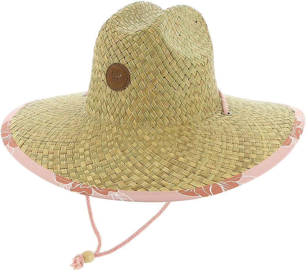 Roxy Women's Pina to My Colada Straw Sun Hat