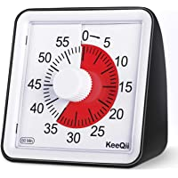 KeeQii Kids Timer, 60 Minute Visual Timer, 3 inch Countdown Timer for Kids and Adult,Time Management Tool for Teaching…