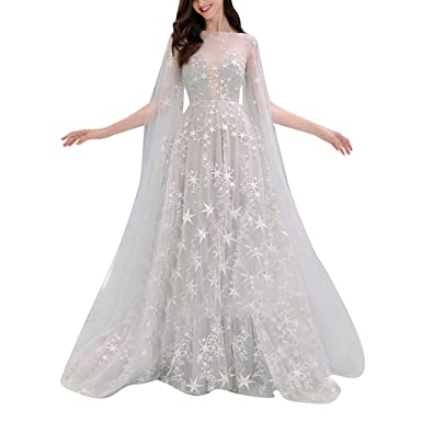 776fa894d08c6 Amazon.com: Women's Elegant Evening Dress| Long Prom Gown Bride ...