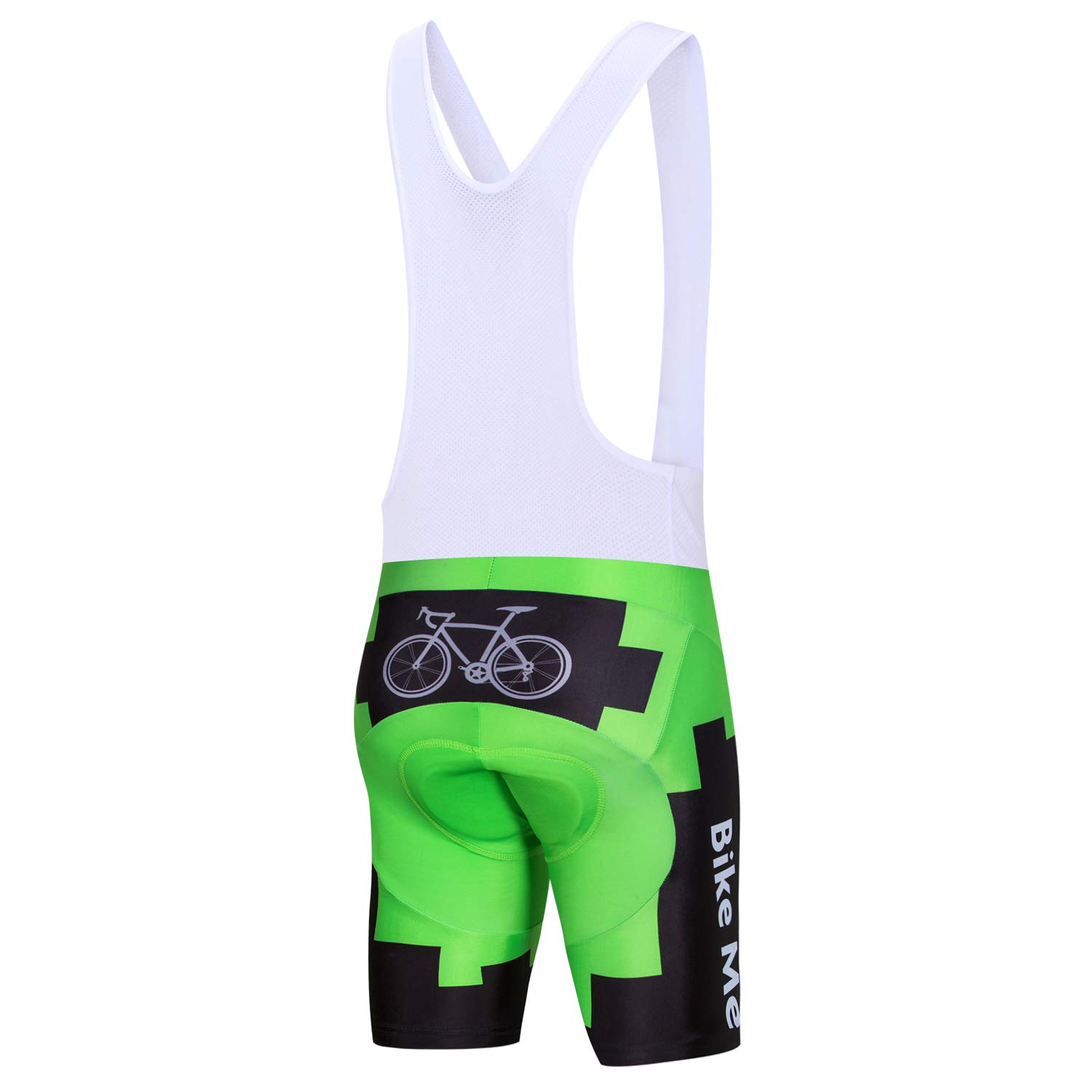 JPOJPO Cycling Shorts Men, Men's MTB Bike Shorts with Paded Biking Tights by JPOJPO