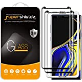 (2 Pack) Supershieldz for Samsung Galaxy Note 9 Tempered Glass Screen Protector with (Easy Installation Tray) Anti Scratch, B