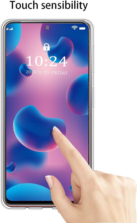 Fan Edition 360/°Full Body Protecci/ón Suave TPU Silicona Delantero PC Dura Atr/ás Transparente Flip Protectora Carcasa para Samsung Galaxy S20 FE 4G // 5G 6.5 Reshias Funda para Samsung S20 FE