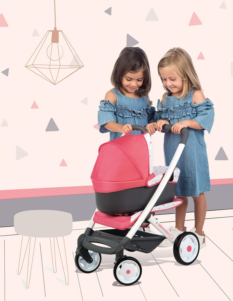 Amazon.es: Cochecito, capazo y sillita 3en1 de Bebé Confort (Smoby 253199): Juguetes y juegos