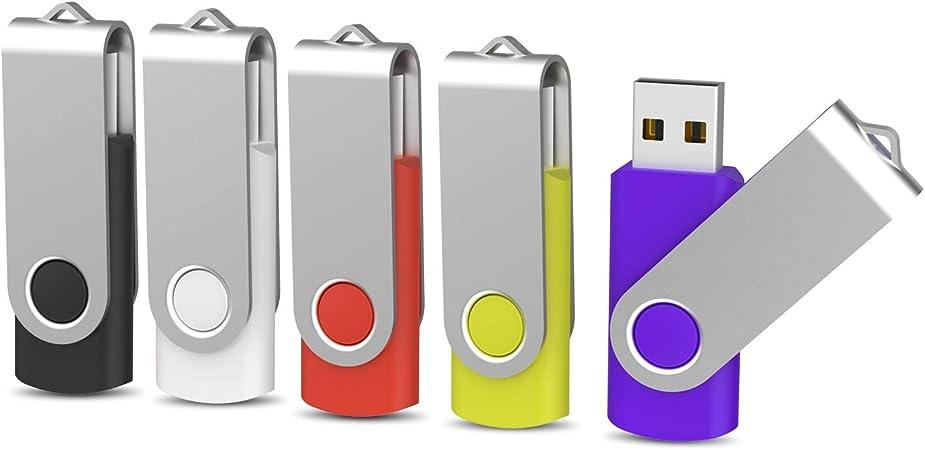 Kootion 8gb Usb Sticks 5 Stück Speichersticks 8g Usb Computer Zubehör