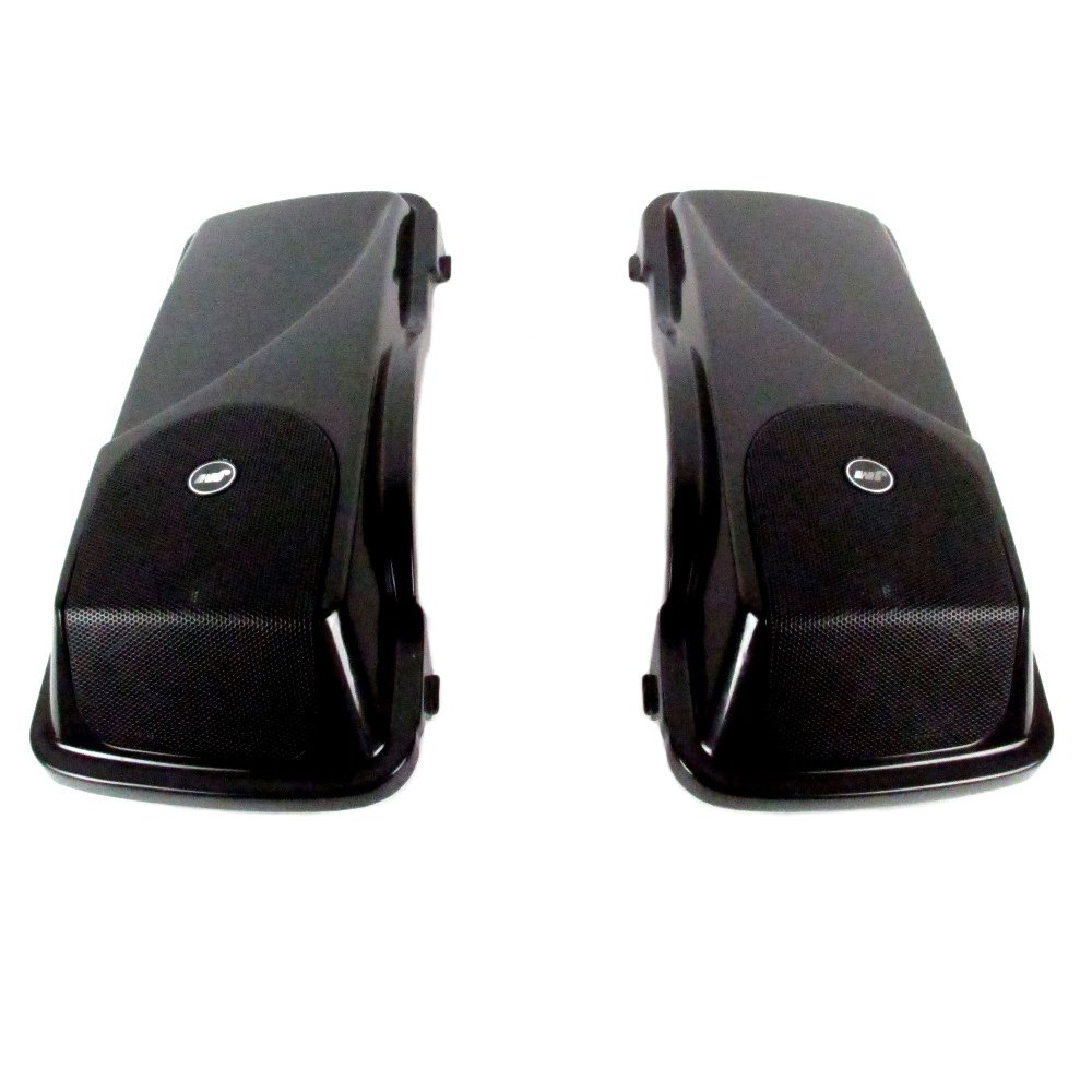 J&M Rokker XXR 5 x 7'' Saddlebag Lid Speaker kit for 1998-2013 Harley-Davidson Touring models - HSBL-065x7-XXR