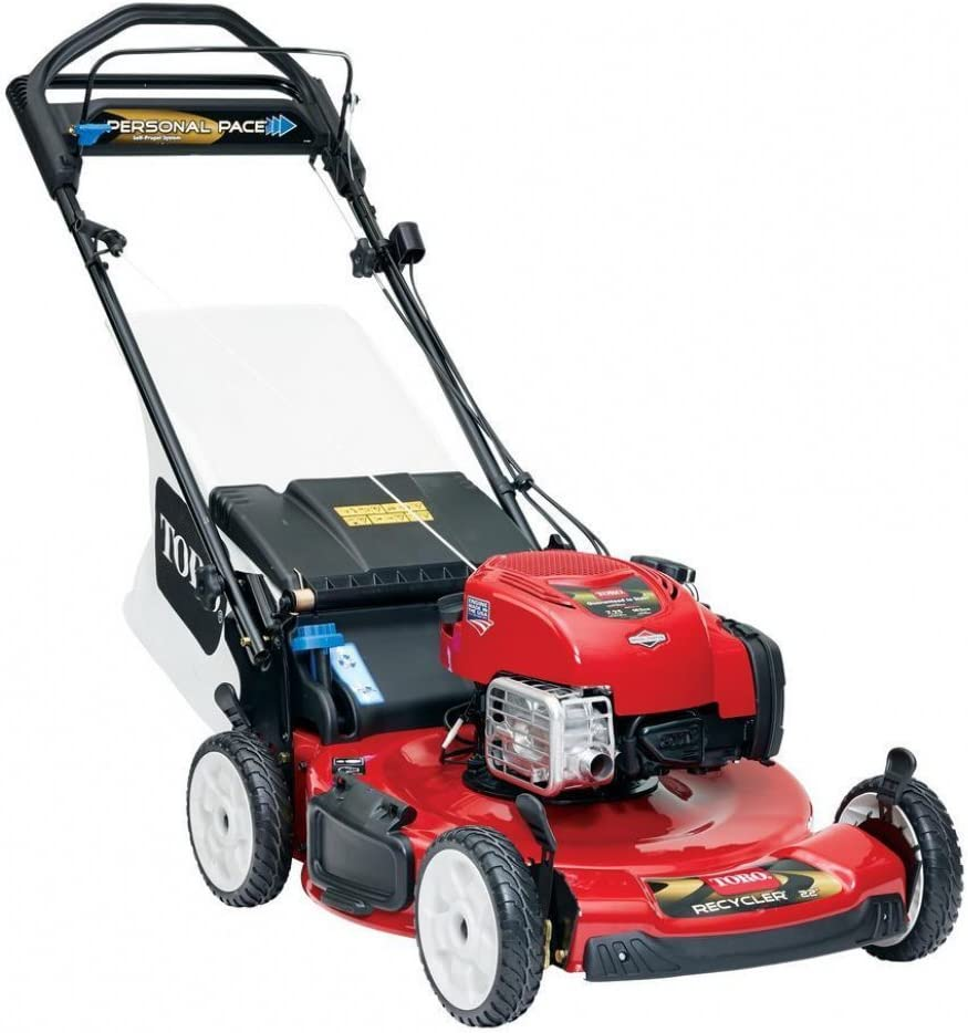 "Toro Recycler (22"") 190cc Personal Pace Lawn Mower"