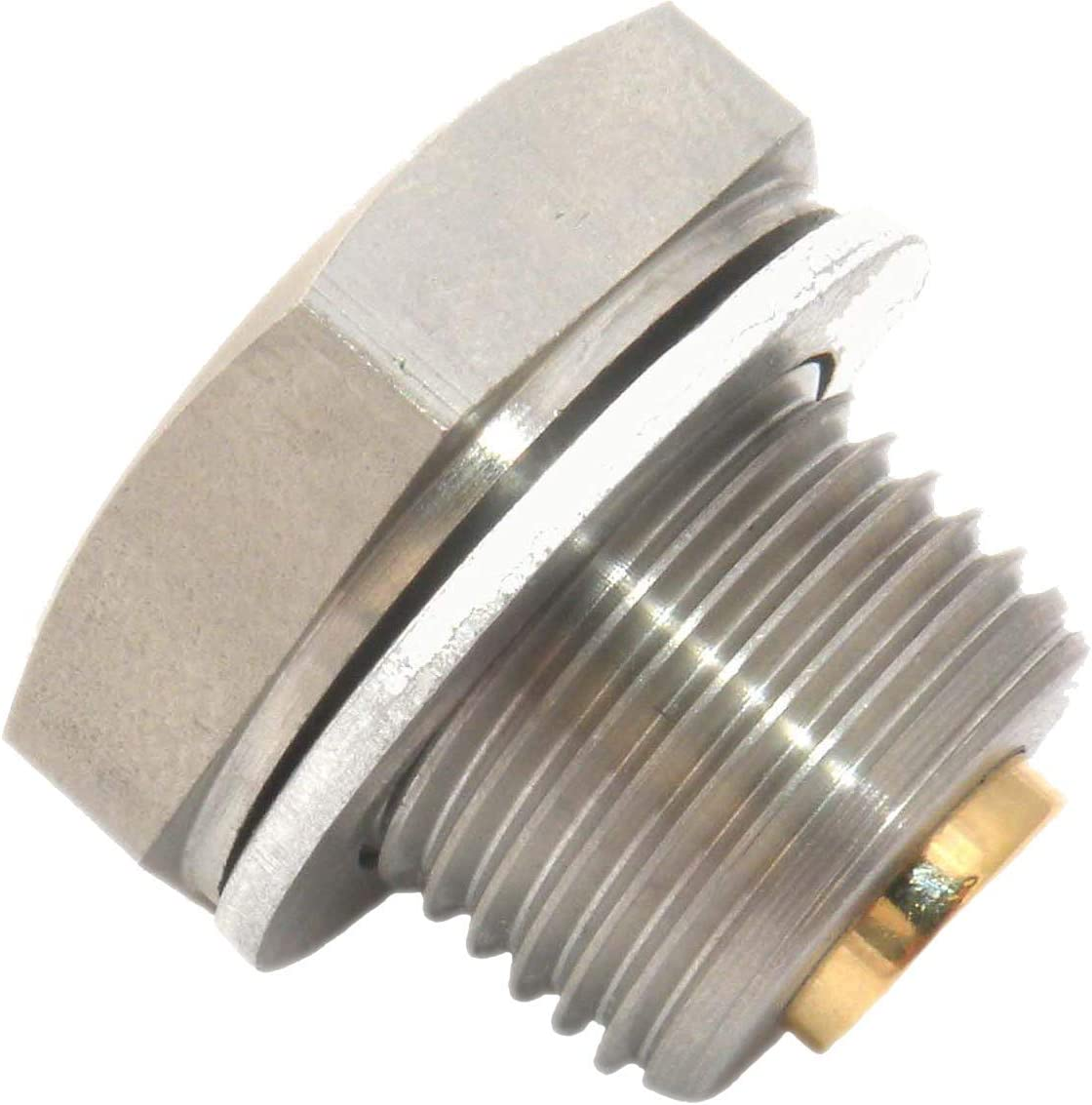 M18 x 1.5 Gold Plug AP-05S Magnetic Sump Plug