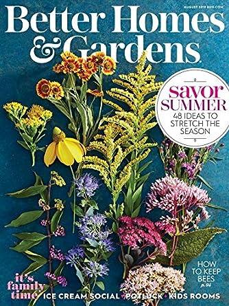 Better Homes & Gardens: Amazon com: Magazines