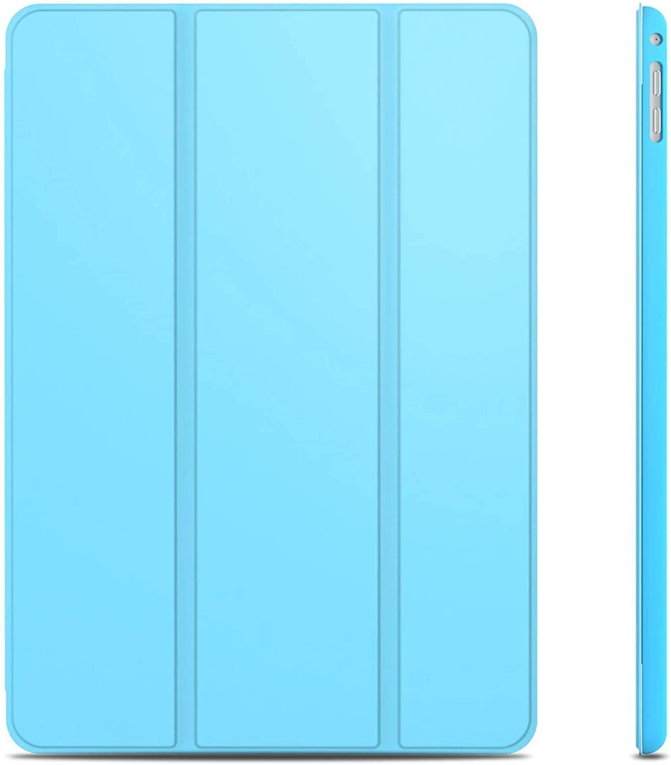JETech Case for iPad Air 2 (Not for iPad Air 1st Edition), Smart Cover Auto Wake/Sleep, Blue